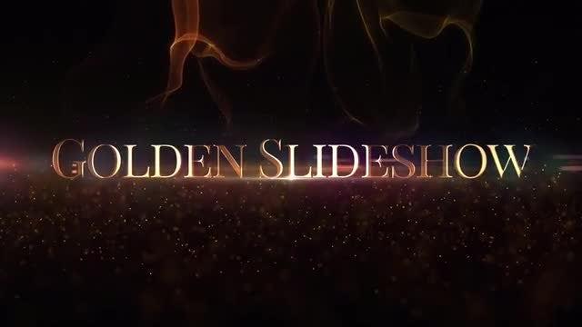 Golden Slideshow: After Effects Templates