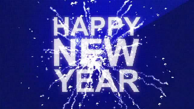 Happy New Year: After Effects Templates