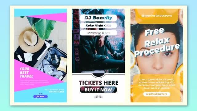 Creative Instagram Stories: Premiere Pro Templates