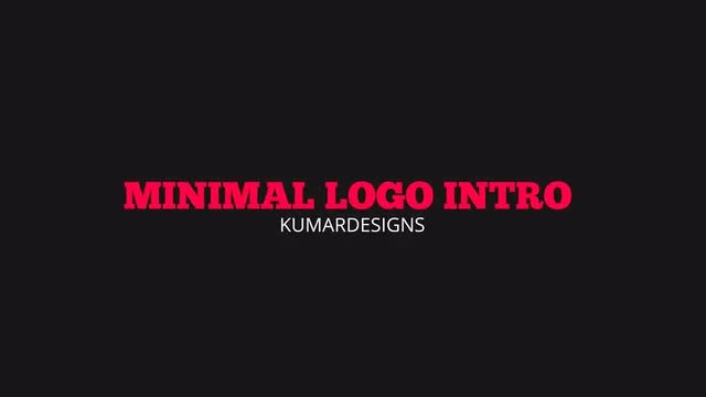 Minimal Logo Intro: After Effects Templates