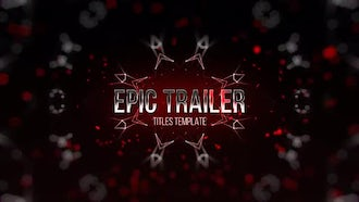 Epic Trailer Titles 1: After Effects Templates