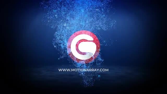 Water Logo Reveal: Premiere Pro Templates