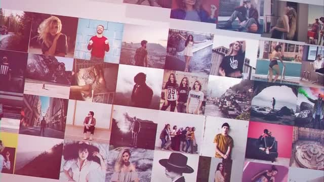 Photo Grid Revealer: After Effects Templates