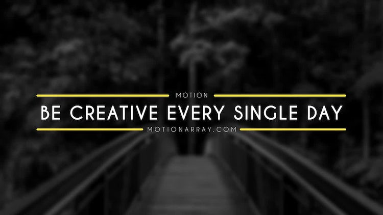 20 Title Animation: After Effects Templates