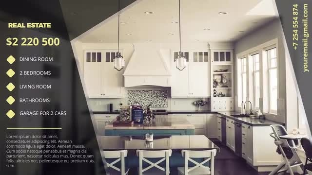 Modern Estate Promo: After Effects Templates