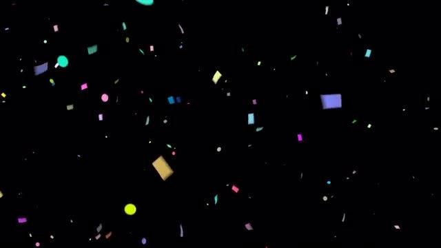 Confetti Rain Pack: Stock Motion Graphics