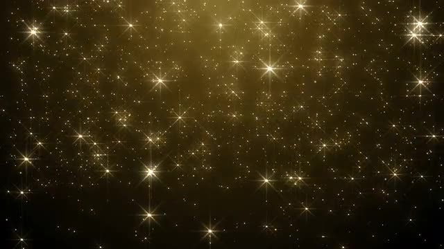 Super Shimmer Christmas Gold Background: Stock Motion Graphics