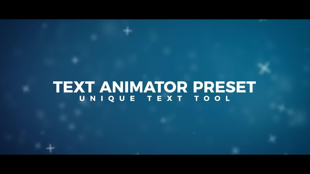 Text Animator Preset 143104 for Premiere