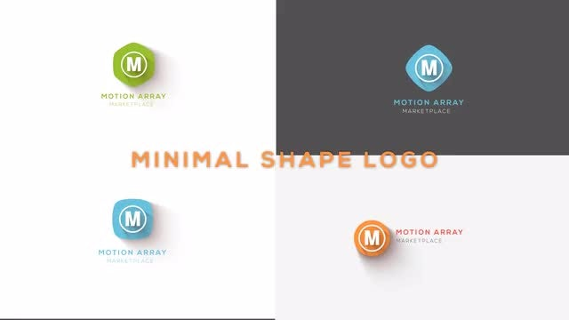 Minimal Shape Logo: After Effects Templates