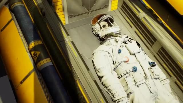 Astronaut Doesn't Survive Cryonics: Stock Motion Graphics
