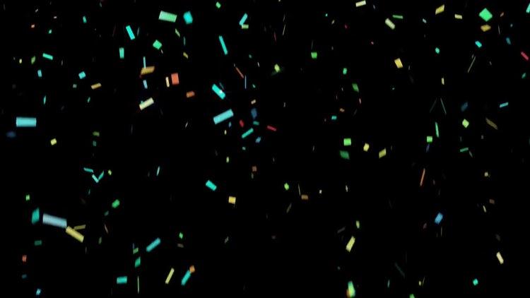 Colorful Confetti: Motion Graphics