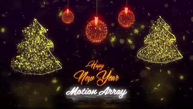 Christmas Logo Reveal: After Effects Templates