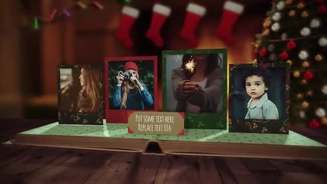 Christmas PopUp Book: After Effects Templates