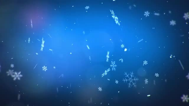 Magic Snow: Stock Motion Graphics