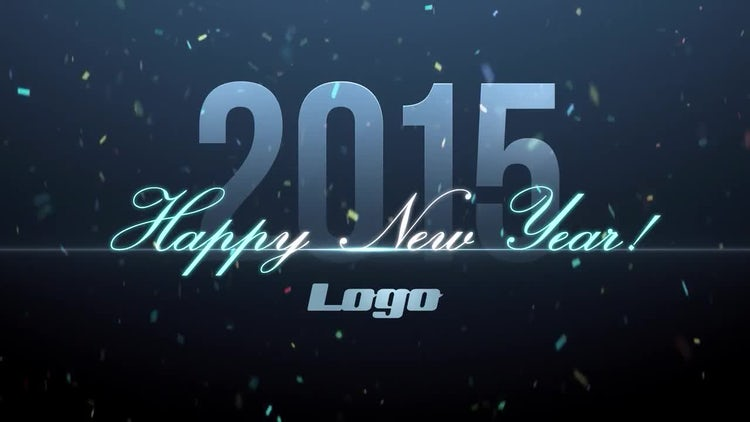Looping New Year: After Effects Templates