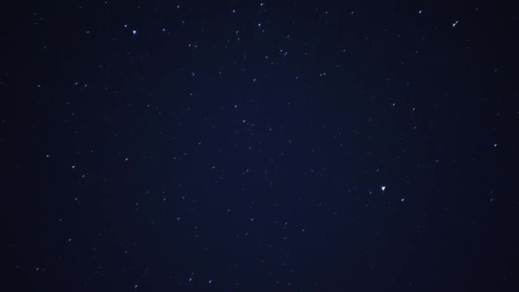 Starry night sky motion: Stock Video