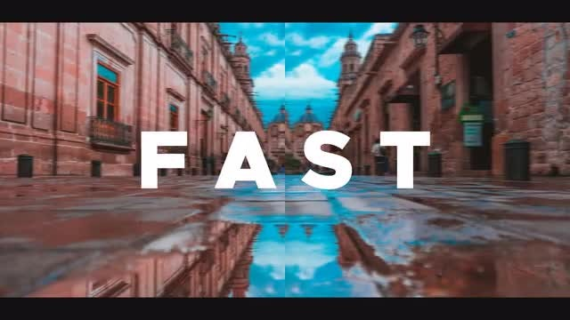 Fast Dynamic Promo: After Effects Templates