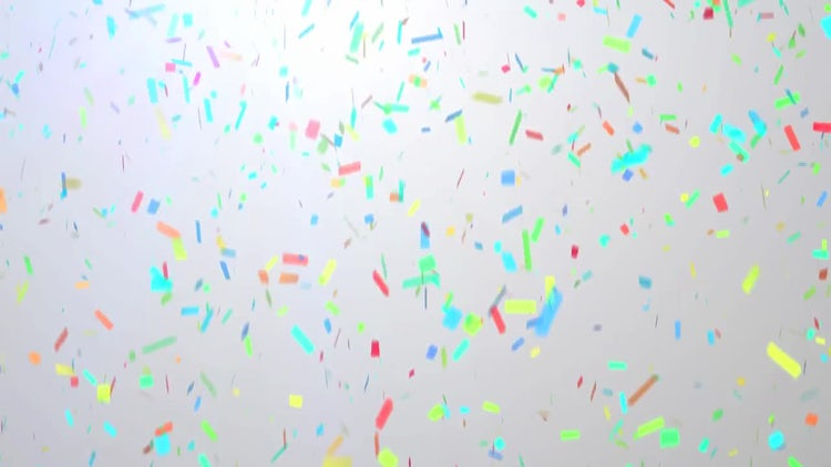 Pastel Confetti: Stock Motion Graphics