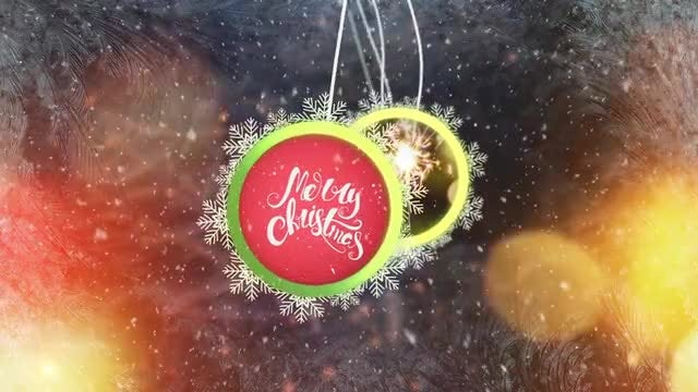 Christmas Logo Reveal & Titles: After Effects Templates
