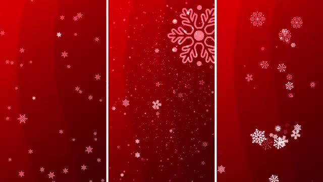 Christmas Background Vertical: Stock Motion Graphics
