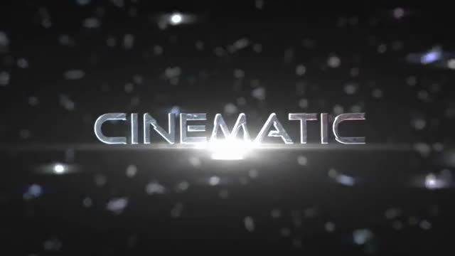 Cinematic Impact Titles: Motion Graphics Templates