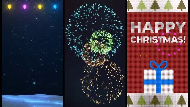 Holiday Animated Backgrounds: Stock Motion Graphics