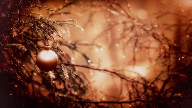 Christmas Ball Ornament: Stock Video