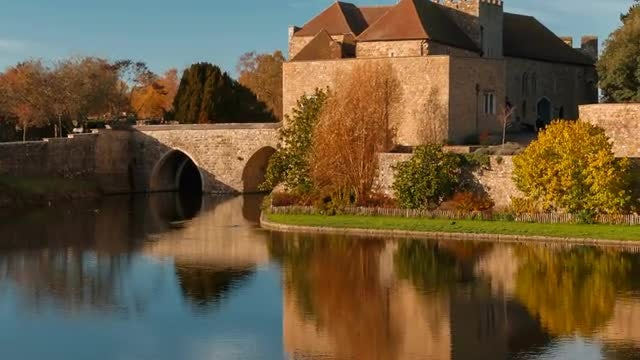 Leeds Castle: Stock Video