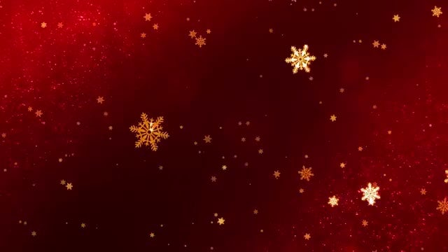 Glowing Snowflakes Christmas Background Pack: Stock Motion Graphics