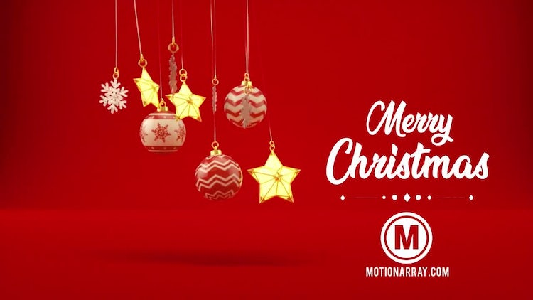 Christmas/New Year Greetings Intro: After Effects Templates