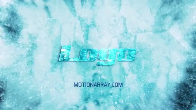 Ice And Snow Winter Logo: After Effects Templates