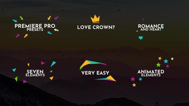 Animated Elements: Premiere Pro Presets