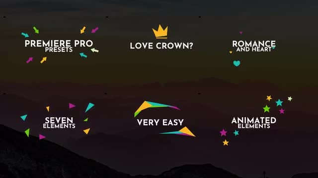 Animated Elements: Premiere Pro Presets
