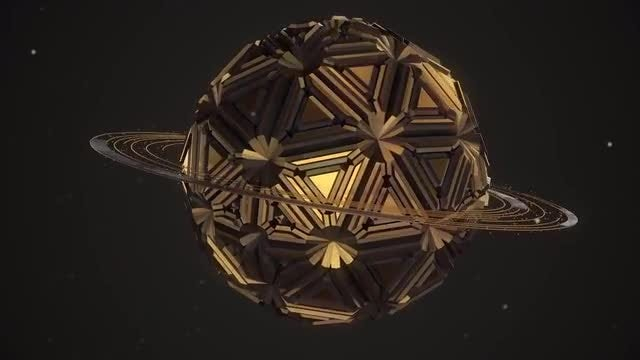 Abstract Sphere 1: Stock Motion Graphics