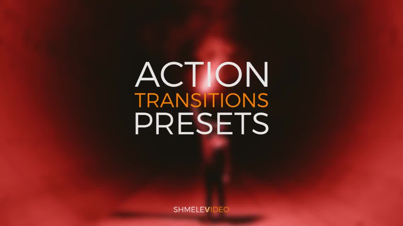 Action Transitions Presets 144983 for Premiere