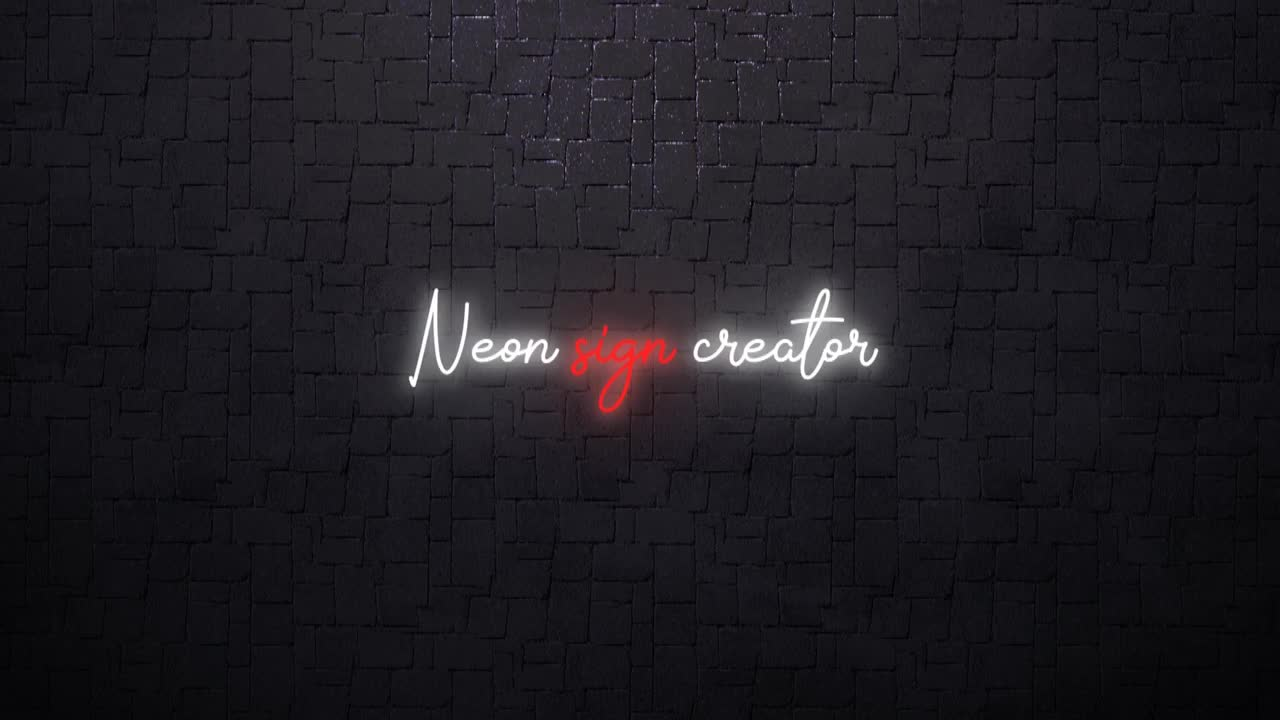 Neon Sign Creator 145006 - Free download