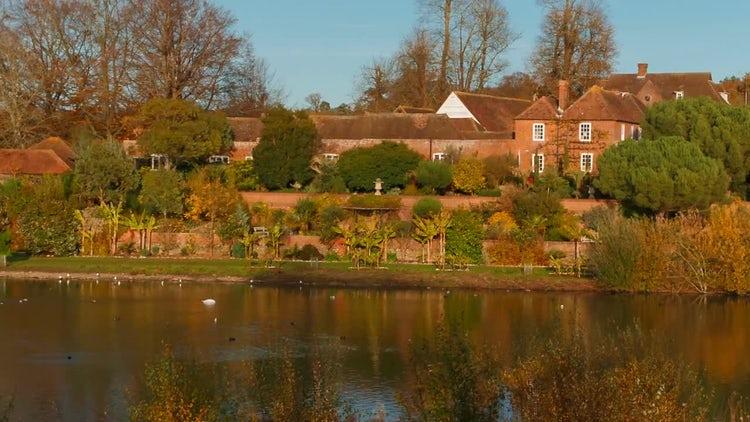 English Countryside: Stock Video