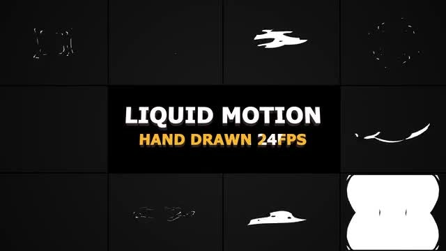 Abstract Liquid Elements: After Effects Templates