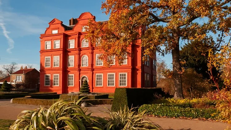 Kew Palace In London: Stock Video