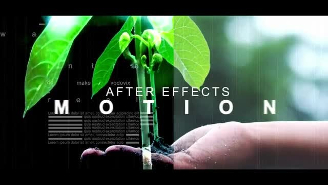 Soft Abstract Opener: After Effects Templates