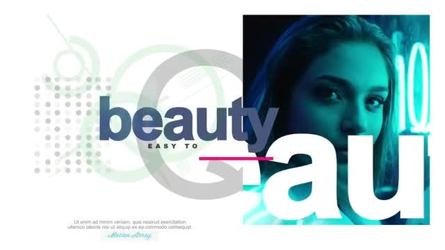 Minimal Fashion Promo: After Effects Templates