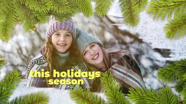 Christmas Wishes: After Effects Templates