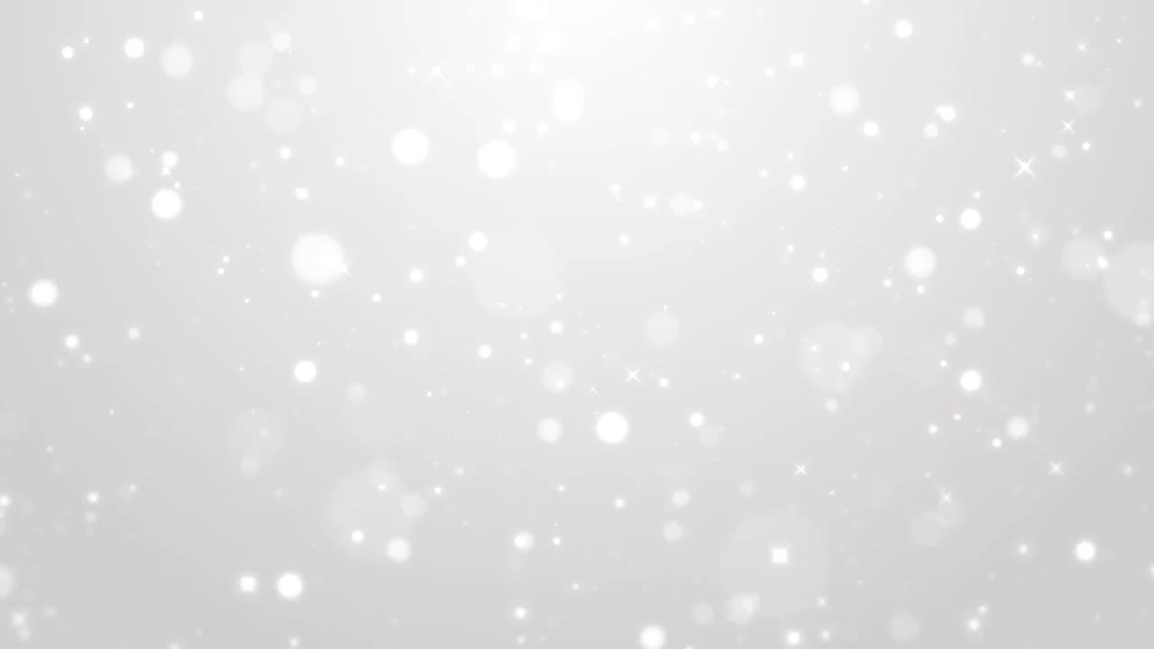 White Christmas Snow Background.Heavy Snow White Christmas Background Stock Motion