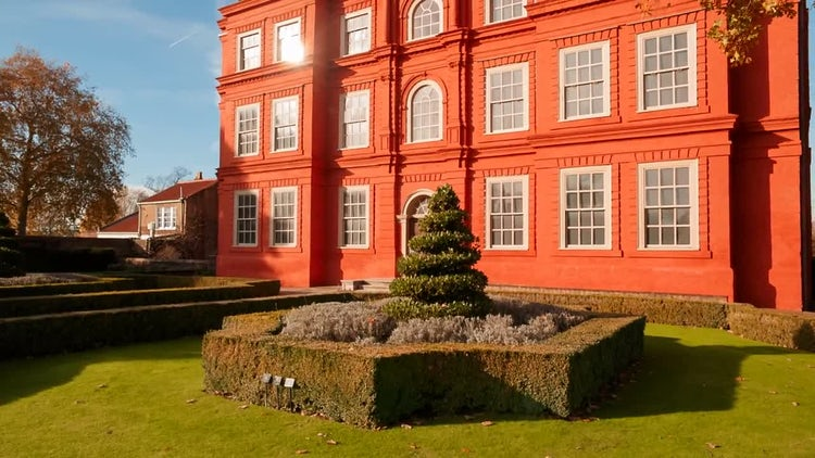 Kew Palace In London: Stock Video