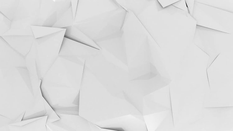 Polygon White Background: Motion Graphics