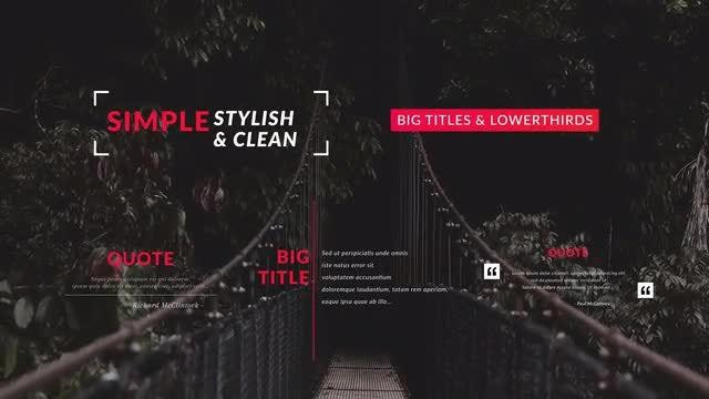 Simple Titles & Lower Thirds: Premiere Pro Templates