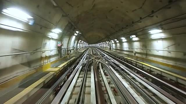 Subway Tunnel: Stock Video
