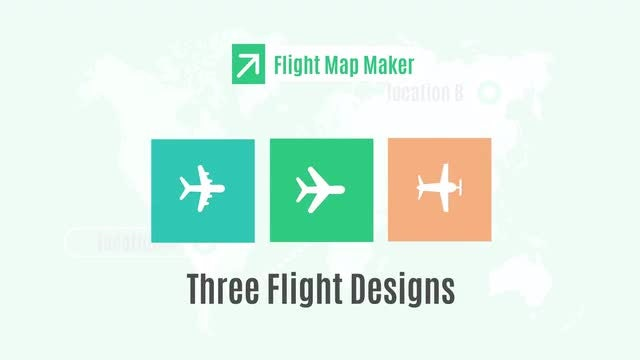 Flight Map Maker: Motion Graphics Templates