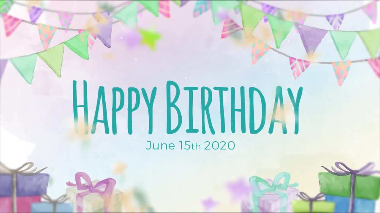 Birthday Slideshow - After Effects Templates  Motion Array