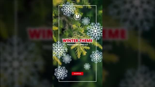 Instagram Stories Winter + Autumn: Premiere Pro Templates